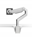 Humanscale M8.1 Single Monitor Arm Clamp - White