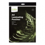 Icon A4 80 micron Laminating Pouches Gloss - 25 Pack