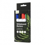 Icon Bullet Tip Whiteboard Markers Assorted - 4 Pack