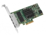 Intel I350-T4 PCI Express 4 x RJ45 Ethernet Server Adapter
