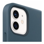 Apple Leather MagSafe Case for iPhone 12 Mini - Baltic Blue