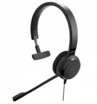Jabra Evolve 30 II Replacement Mono Headset - Includes Headband, Ear Cushion & 3.5mm Jack
