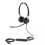 Jabra Biz 2400 II USB Over the Head Wired Stereo Headset for Contact Centres