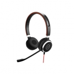 Jabra Evolve 40 UC MS Wired Duo USB Headset - Optimised for Microsoft Skype for Business