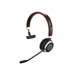 Jabra Evolve 65 UC Bluetooth Over The Head Wireless Mono Headset with Charging Stand