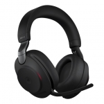 Jabra Evolve2 85 MS USB-A 3.5mm Bluetooth Over the Head Wireless Stereo Headset - Black - Optimised for Microsoft Business Applications