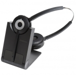 Jabra Pro 930 MS DECT Over the Head Wireless Stereo Headset for Soft Phones - Optimised for Microsoft Business Applications