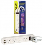 JACKSON 4 way Protected Power Board with coaxial line ANTENNA protection