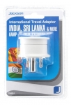 Jackson Outbound Travel Adaptor for Sri Lanka, Parts of India and Bangladesh