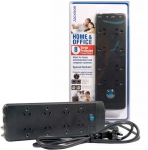Jackson 8 Outlet Protected Power Board with Telephone and TV Line Protection