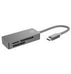 Kanex USB-C 3 Port Card Reader - Space Grey