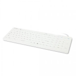 Kensington IP68 Dishwasher Proof Washable Keyboard - White