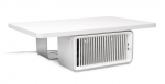 Kensington CoolView Wellness Monitor Stand with Desk Fan - White