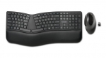 Kensington Pro Fit Ergo Wireless Keyboard and Mouse Combo - Black