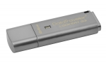 Kingston DataTraveler Locker+ G3 64GB USB 3.0 Flash Drive - Silver