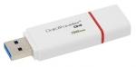 Kingston 32GB Data Traveler G4 USB 3.0 Flash Drive - White/Red