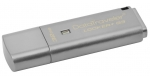 Kingston DataTraveler Locker+ G3 32GB USB 3.0 Flash Drive - Silver
