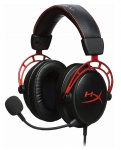 Kingston HyperX Cloud Alpha Pro 3.5mm Wired Gaming Headset with Mic - Red