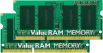 Kingston ValueRAM 16GB (2X8GB) 1600MHz DDR3 Non-ECC CL11 SODIMM Memory