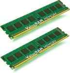 Kingston ValueRAM 16GB 1333MHz DDR3 ECC CL9 (2 X 8GB) Memory