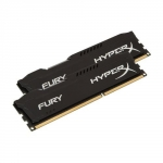Kingston Hyper X Fury Series 8GB(2x4GB) 1600MHz DDR3 Non-ECC CL10 Memory - Black