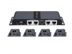Lenkeng 1 in 4 out HDMI Extender and Splitter