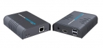 Lenkeng HDMI Extender Over Single Network Cable with KVM - Up to 120m