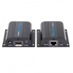 Lenkeng HDMI over CAT 6 1080p Extender Kit with IR - 1x Transmitter, 1x Receiver