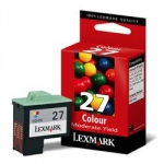 Lexmark #27 Tri-colour 10N0227 Ink Cartridge