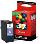 Lexmark #37 Tri-colour 18C2140A Ink Cartridge