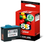 Lexmark #83 Tri-Colour Ink Cartridge