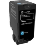 Lexmark CX725 Cyan High Yield Toner Cartridge