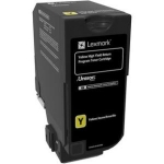 Lexmark CX725 Yellow High Yield Toner Cartridge