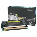 Lexmark C734A1YG Yellow Toner Cartridge