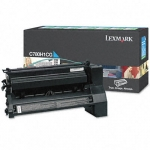 Lexmark C780H1CG Cyan High Yield Toner Cartridge