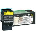 Lexmark C544X1YG Yellow Toner Cartridge