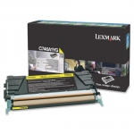 Lexmark C746A1YG Toner Cartridge - Yellow
