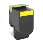 Lexmark Unison 808SY Yellow Toner Cartridge