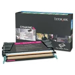 Lexmark X746A1MG Magenta Return Program Toner Cartridge