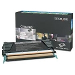 Lexmark X746H1KG Black High Yield Return Program Toner Cartridge