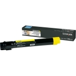 Lexmark X950X2YG Yellow Toner Cartridge