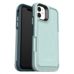 LifeProof FLiP Case for iPhone 11 - Water Lily (Light Blue/Green)