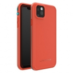 LifeProof FRE Case for iPhone 11 Pro Max - Fire Sky (Aqua/Red Orange)