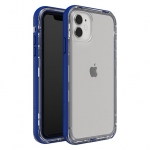 LifeProof NEXT Case for iPhone 11 - Blueberry Frost (Clear/Blue)