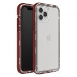 LifeProof NEXT Case for iPhone 11 Pro - Raspberry Ice (Clear/Red Dahlia)