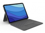 Logitech Combo Touch Keyboard Case for iPad Pro 11 Inch - Oxford Grey