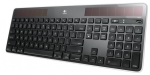 Logitech K750r Wireless Solar Keyboard - Black