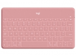 Logitech Keys-To-Go Ultra-Portable Bluetooth Keyboard for iPhone, iPad, and Apple TV - Pink