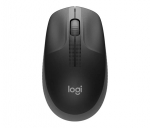 Logitech M190 Full Size Wireless Mouse - Charcoal