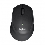 Logitech M331 Silent Plus Wireless Mouse - Black